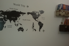 La mappa a parete